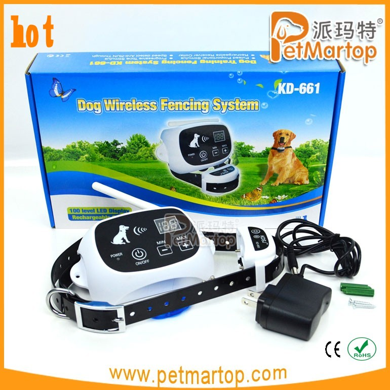 new item indoor wireless and harmless electronic pet dog fence system 216f TZ-KD661