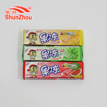 Chunwang fruity jelly chewing gum