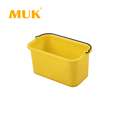 MUK hotel restaurant supplies cleaning cart accessories 10 QT disinfecting pail