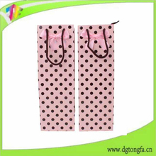 wine bottle paper carrier bag, wine bottle paper bag in china