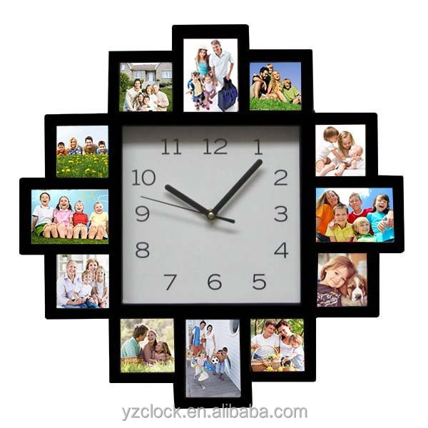 hot sell large photo frame wall clock 2015 buy photo