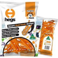 HEGS - One-of-a-kind, AWARD WINNING, dual-hook, high quality, Australian made, clothes peg