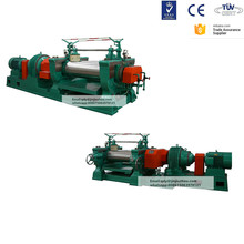 Two roll rubber compound mixing mill machine XK-450