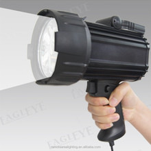 guangzhou factory portable power source Outdoor Searchlights SLE88R battery powered 35W rechargeable HID Hunting Spotlight