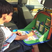 Backseat Car Organizer For Kids Holds Crayons Markers And Even an iPad Kindle or Other Tablet