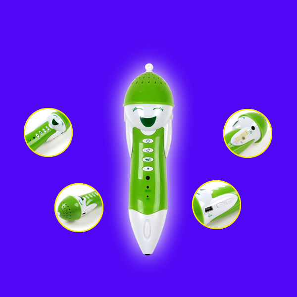 Hot !! New coming Educational learning machine english reading pen with whole a set of books, easy learn, more funny