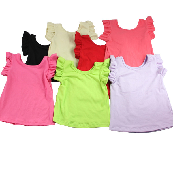 Boutique Kaiyo blank short sleeve shirt carters baby wholesale children's boutique clothing