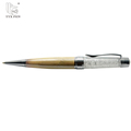 Gift craft new products metal diamond top pen