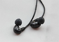 New SE215 Best Quality Earphones Hifi Headsets Noise Cancelling Bass Headphones With Package