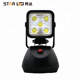 Work zone magnetic rechargeable blue point 15w led work light for cars