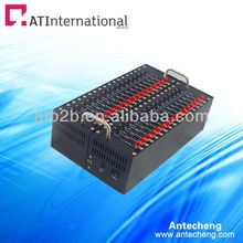 hotsale internet sms modem pool 32 ports Q24plus suport sms,mms,EDGE and TCP/IP.850/900/1800/1900MHZ