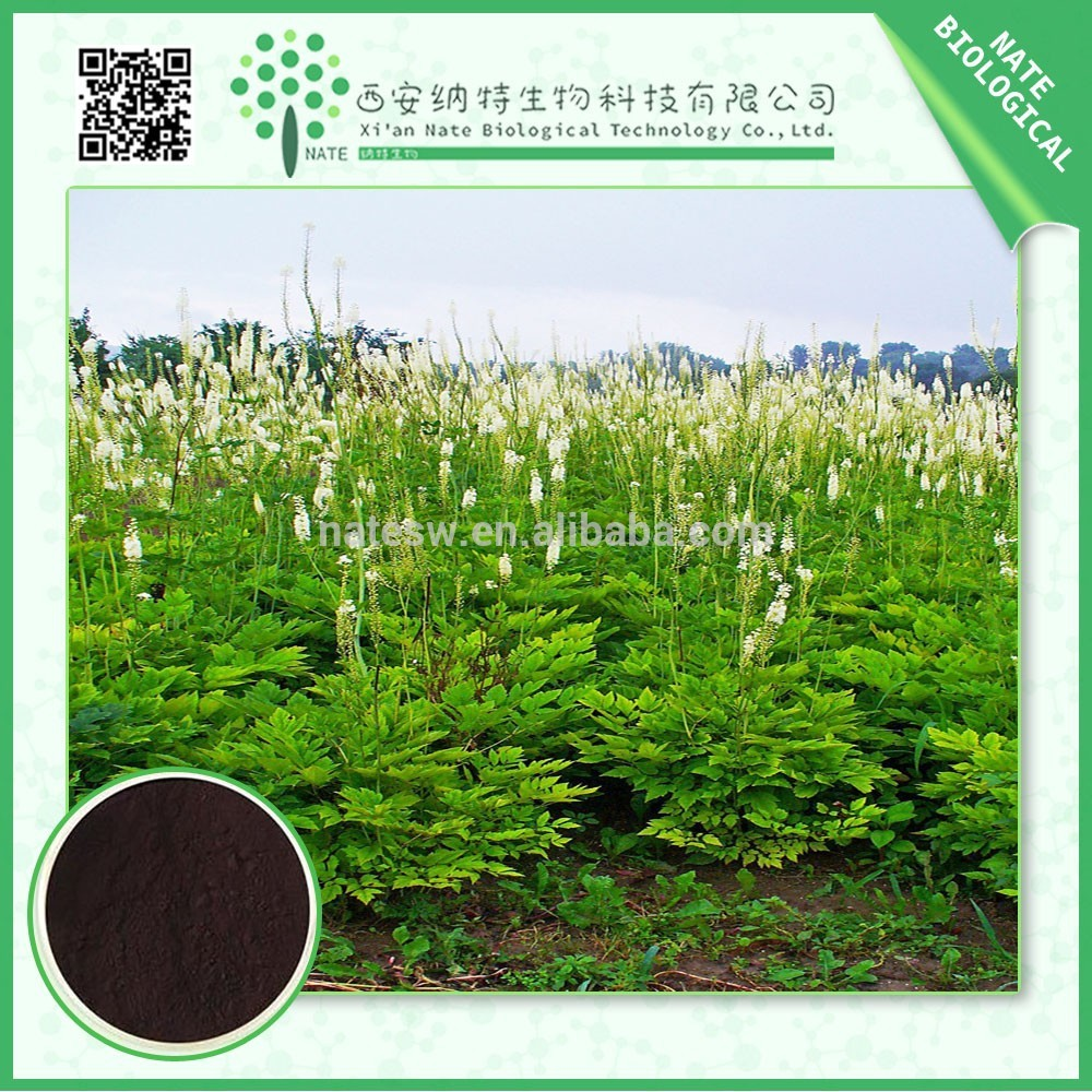Free Sample Pure Black Cohosh Extract Triterpenoid Saponins 2.5%