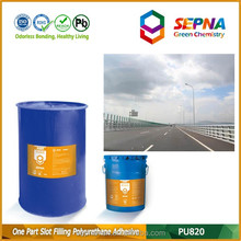 Polyurethane building material environment-friendly expansion joint sealant and adhesive