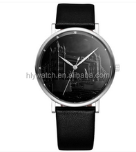 Branded japan focus quartz movt stainless steel watches for lover