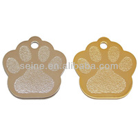 Hot sale high quality customized unique making engraved metal dog pet ID tag