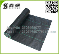 High Quality woven Black Plastic PP Weed Matting in Garden/new agricultural technology