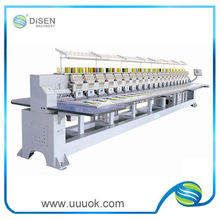 High speed flat embroidery machinery