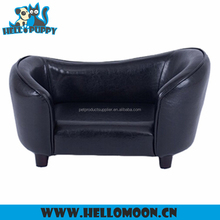 HELLOPUPPY Best Quality PU Leather Luxury Large Dog Bed Pet Sofa