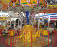 Children Recreational Games!!! Kiddie Amusement Park Mini Flying Chair Rides for Sale