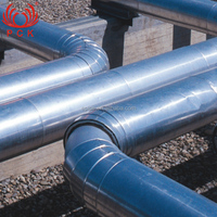 GB Q235 Concrete Weight Coating Electric Resistance Welding Black Carbon Steel Welded Line Pipe for drinking water
