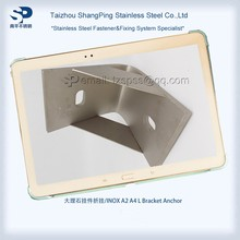 202 stainless steel satin stone cladding system marble angle bracket