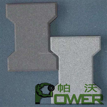 Pro-environment high quality sidewalk rubber mat with low price