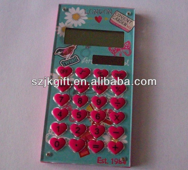 heart love shape gift promotion calculator