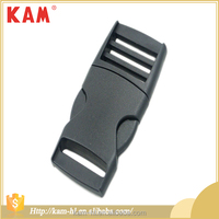 High quality plastic quick release belt buckle for webbing strap