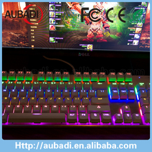 backlight rgb mechanical keyboard gaming accessories
