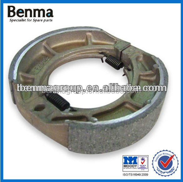 Good Quality DT125 Brake shoe for Motorcycle Factory Directly Sell
