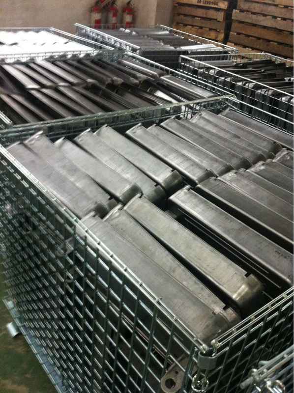 metal roll container warehouse cage made reduce for powerman