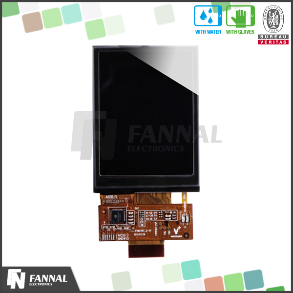 2.8 inch lcd capacitive touch screen can used for digital panel meter