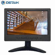 Small Size 7 Inch VGA BNC TFT LCD Monitor with AV Input Widescreen 7Inch LED CCTV Monitor