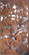 America hot sell carved mdf grape divider wall panels ,interior decoration&wall design