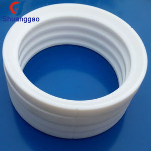Custom various sizes high precise teflon PTFE ball valve seat ring
