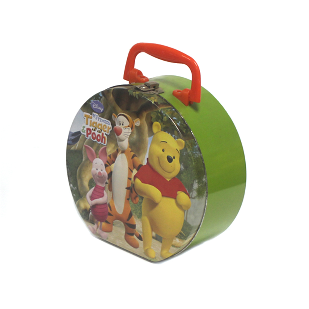 Popular Cartoon Tin Packaging Lunch Box for Kids