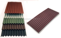 color aluzinc metal tile roof