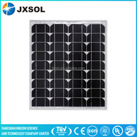 photovoltaic cell monocrystalline 50w mono solar panel for home use