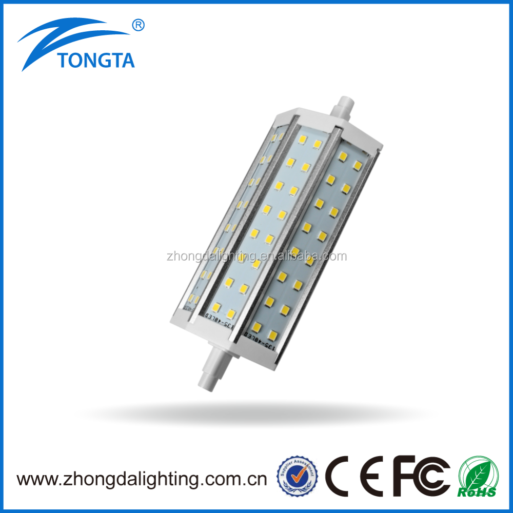 High Quality China Manufacturer SMD2835 Super Bright 3000K R7S Led 78MM 10W