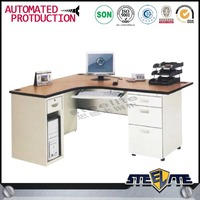 High quality wooden top metal frame work tables/office desks/office wood desk