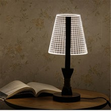 High quality wooden table lamp