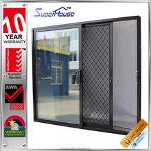 Wholesale customized AS2047 Australia standardfront house door designs with security mesh