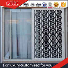 2017 Laminate Aluminium Lowes Sliding Screen Windows Doors Design