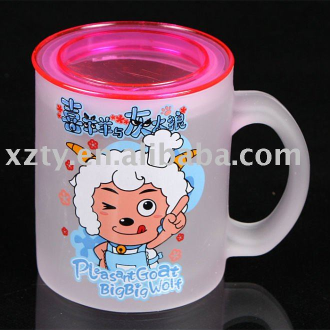 200ml Frosted Glass mug