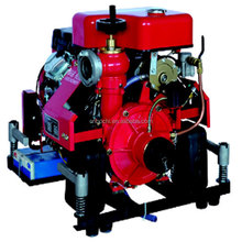 Electric Started Fire Heavy Duty Water Pump