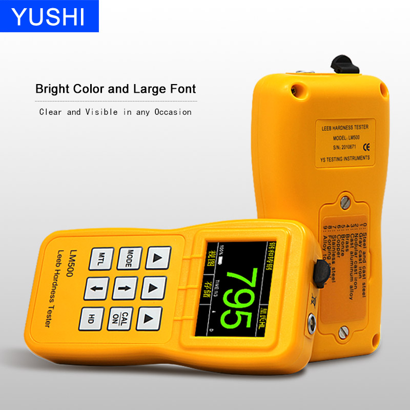 LM500 precision durometer portable metal hardness tester