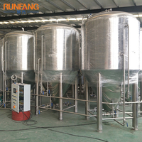 Stainless steel 304 Craft beer brewing used wine fermenting equipment