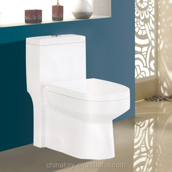 India Standard Ceramic One Piece Toilet