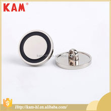 Fashion style metal KAM jeans round shape snap on buttons