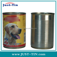 7110 425g round metal tin pet food container for canned pet food